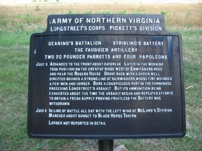 Dearing's Battalion - Stribling's Battery Tablet image. Click for full size.