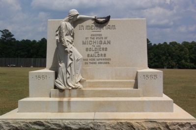 Michigan Monument image. Click for full size.