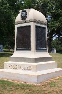 Rhode Island Monument image. Click for full size.