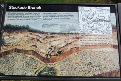 Stockade Branch Marker image. Click for full size.