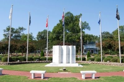 Simpsonville Veterans Memorial image. Click for full size.