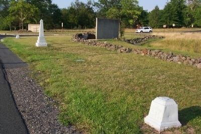 Companies G and I, 4th Ohio Infantry Marker and Deployment Lines image. Click for full size.