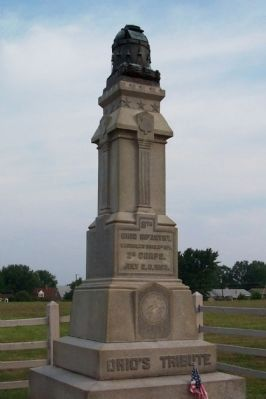 8th Ohio Infantry Monument image. Click for full size.