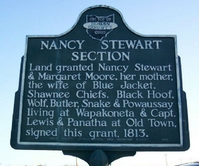 Nancy Stewart Section Marker image. Click for full size.