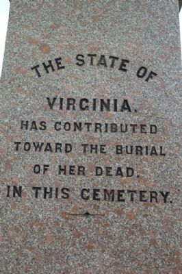 Washington Confederate Cemetery Monument - Virginia image. Click for full size.