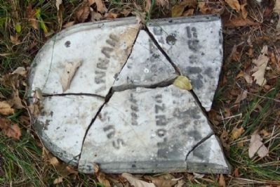 Susannah Postle Headstone image. Click for full size.
