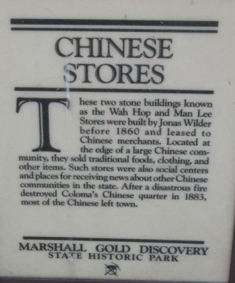 Chinese Stores Marker image. Click for full size.