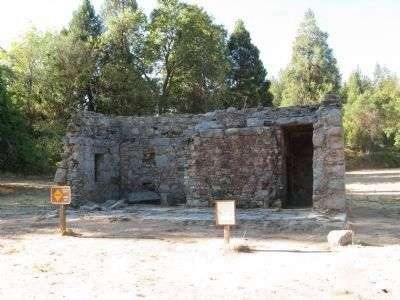 Coloma Jail Ruins and El Dorado County Jails Marker image. Click for full size.