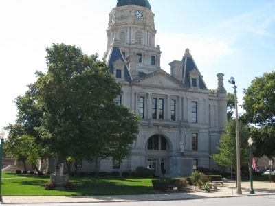 Whitley County Court House - North image. Click for full size.