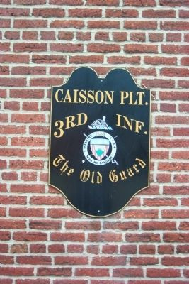 Caisson Platoon Marker image. Click for full size.