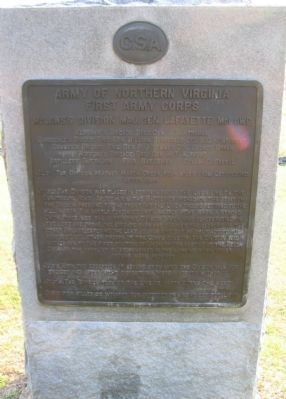 McLaws's Division Tablet image. Click for full size.