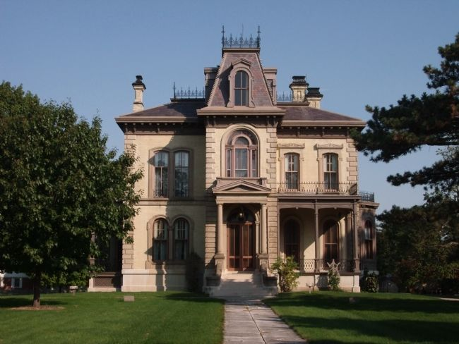 The Davis Mansion image. Click for full size.