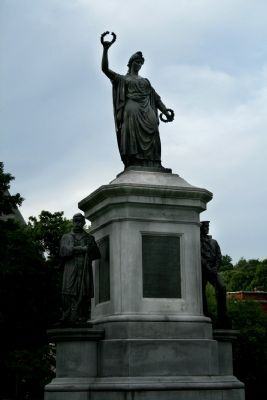 Fitchburg Civil War Monument Marker image. Click for full size.