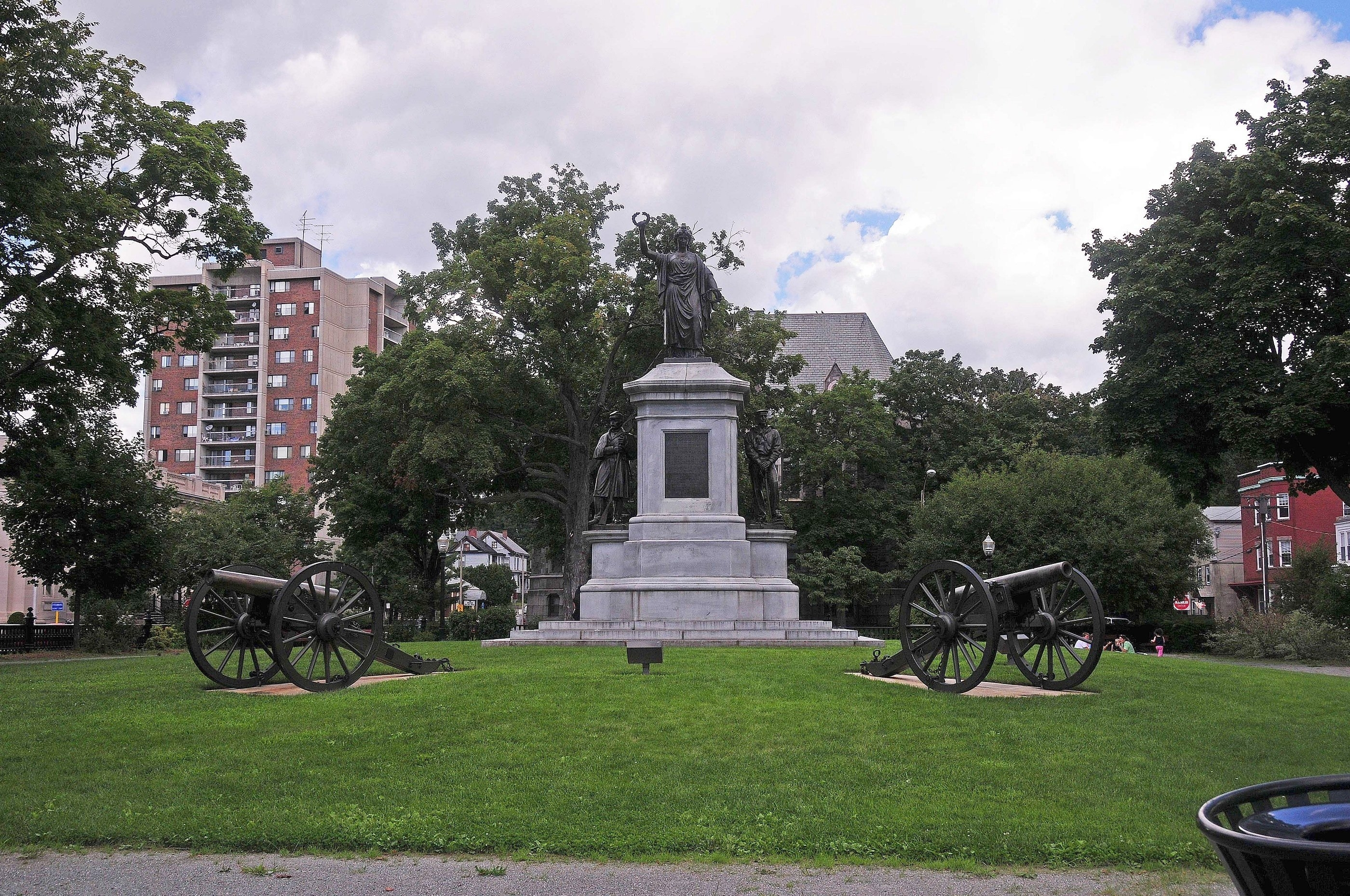 Fitchburg Civil War Monument Marker