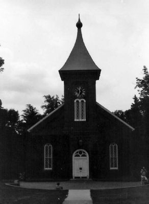 Lee Chapel image. Click for full size.