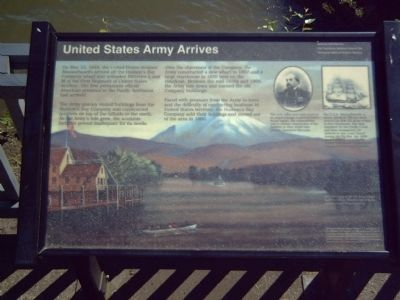 United States Army Arrives Marker image. Click for full size.