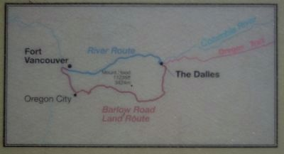 "Map from the ""A River of Settlers"" Marker image. Click for full size."
