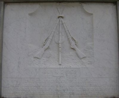 Gadsden Confederate Memorial Marker-Heros image. Click for full size.