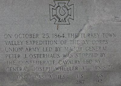 Turkey Town Monument Marker - Turkey Town Valley Expedition image. Click for full size.