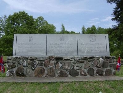 Turkey Town Monument image. Click for full size.