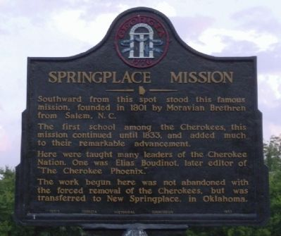 Springplace Mission Marker image. Click for full size.