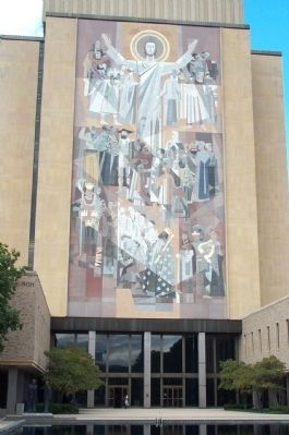 Touchdown Jesus image. Click for full size.