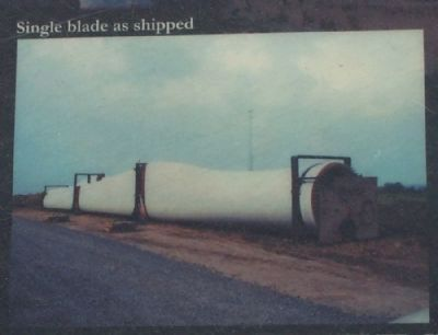 Single blade as shipped image. Click for full size.