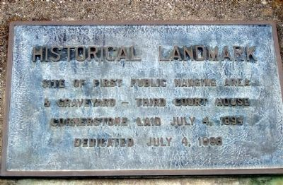Placer County Courthouse Marker image. Click for full size.