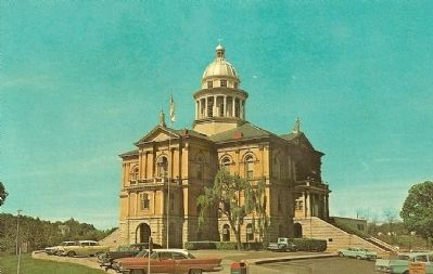 Postcard - Placer County Courthouse image. Click for full size.