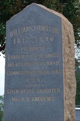 William Johnston Marker image. Click for full size.