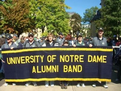 Notre Dame Alumni Band image. Click for full size.