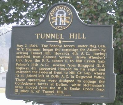 Tunnel Hill Marker image. Click for full size.