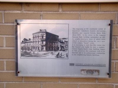 Augusta National Bank Building Marker image. Click for full size.