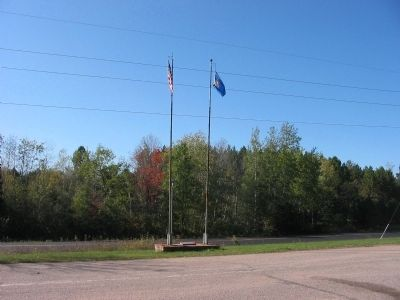 Flags at Wayside image. Click for full size.