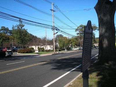 Bergen County Historical Society Marker image. Click for full size.