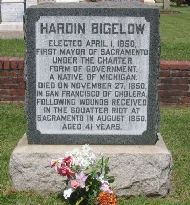 Hardin Bigelow Marker image. Click for full size.