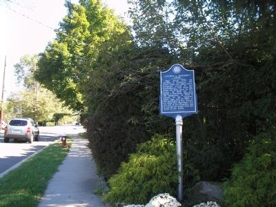 Marker on Dogwood Drive image. Click for full size.