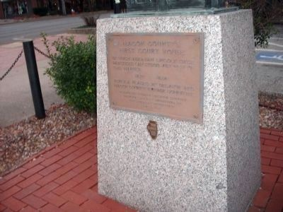 Wolf Creek Marker Wins - - It Existed First.... image. Click for full size.