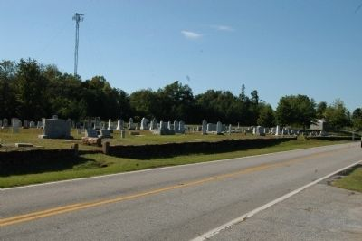Mount Zion Baptist Church Cemetery image. Click for full size.