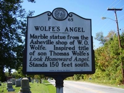 Wolfe's Angel Marker image. Click for full size.