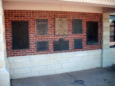 "Soldiers of the American Revolution Marker - - ""Wall of Plaques"" image. Click for full size."