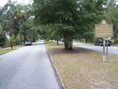 Mark Carr Marker, along Union Street, looking north image. Click for full size.