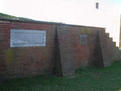Other markers at Fort Mifflin image. Click for full size.