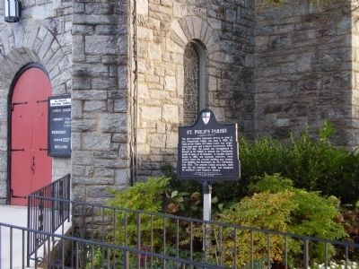 St. Philip's Parish Marker image. Click for full size.