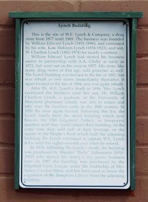 Lynch Building Marker image. Click for full size.