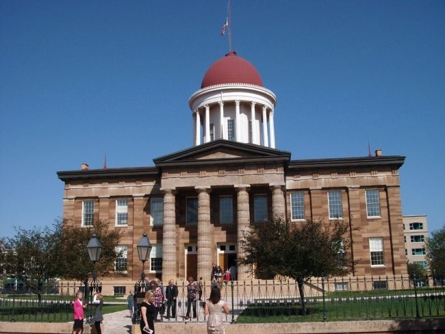 Old Illinois State Capital Building image. Click for full size.