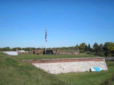 Outside of Fort Mifflin image. Click for full size.