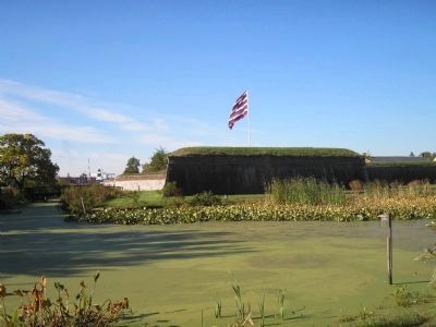 Fort Mifflin and Moat image. Click for full size.
