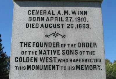Inscription on Monument image. Click for full size.
