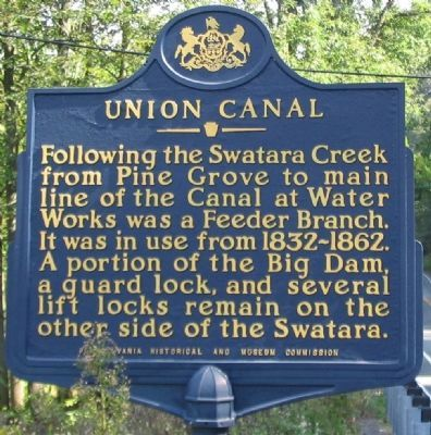 Union Canal Marker image. Click for full size.